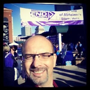 Comedy Corporate Magician Steve Barcellona Busch Stadium 2012 St Louis Walk to End Alzheimer's!