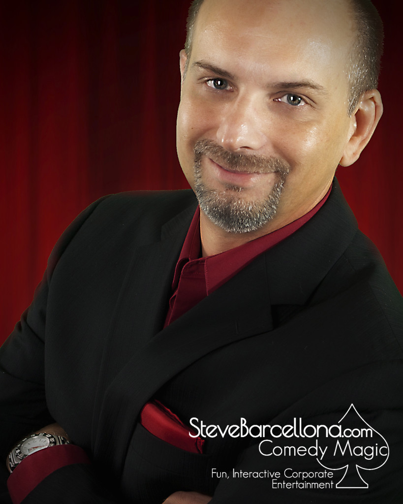 Steve Barcellona Comedy Magic Corporate Event Entertainment